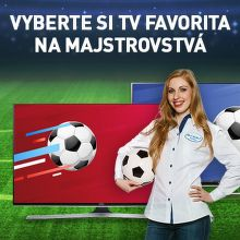 Vyberte si TV favorita na majstrovstvá