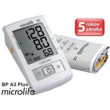 MICROLIFE BP A3 Plus PC, automatický tlakomer na rameno