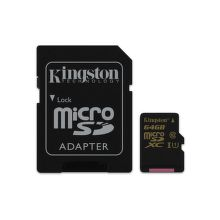 KINGSTON 64GB Micro SDXC Class 10 - pamäťová karta