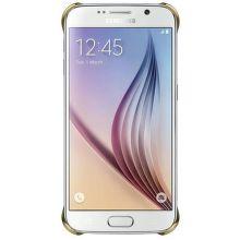 SAMSUNG Clear kryt EF-QG920BF pre Galaxy S6, Zlatá