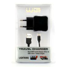 WINNER Sieť.nab. USB+dát.kábel iPhone 5