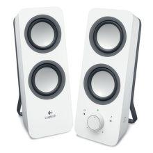 LOGITECH Z200 Speakers Snow White, 980-000811