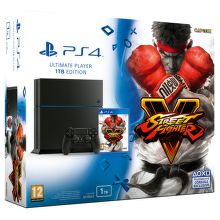 Sony PlayStation 4 1TB + Street Fighter