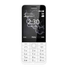 Nokia 230 Dual SIM (svetlá strieborná)