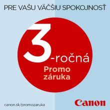 3-ročná záruka na tlačiarne a skenery Canon
