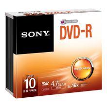 Sony DVD-R 4,7GB 16x, Slim, 10ks