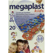 MEGAPLAST detská klasická náplasť, 20ks