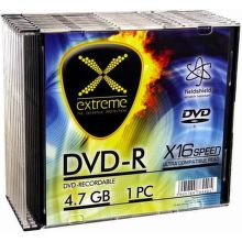 Esperanza 1167 Extreme DVD-R 4,7GB 16x, slim jewel, 10ks