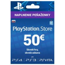 Sony PlayStation Live Cards 50 EUR