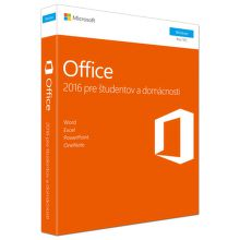 MICROSOFT Office Home and Student 2016 EN