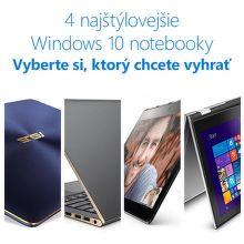 Najštýlovejšie notebooky s Windows 10
