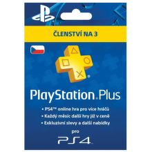 PS Plus Card 90 Day/CZE