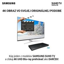 Darček k SUHD televízorom Samsung