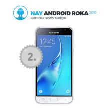 Samsung Galaxy J3, Dual SIM (biela)