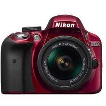NIKON D3300 RED + 18–55 VR