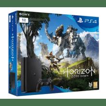 Sony PlayStation 4 1TB Slim (čierna) + hra Horizon Zero Dawn