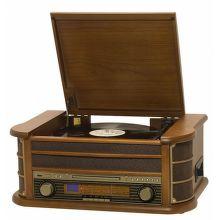 Orava RR-65 retro rádio s gramofónom