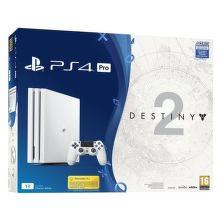 Sony PlayStation 4 Pro 1TB biely + Destiny 2 + PS Plus 14 dní + Thats You