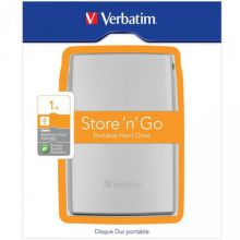 "VERBATIM 1 TB 2.5"" USB 3.0, ext. HDD Store 'n' Go Silver"