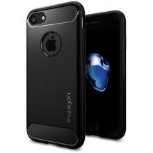 SPIGEN iPhone 7/8 Case Rugged Armor, čierna