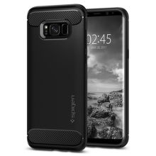 SPIGEN Samsung Galaxy S8 Case Rugged Armor, čierna