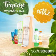 Vyhrajte 5x víkendový pobyt za nákup produktov Sodastream