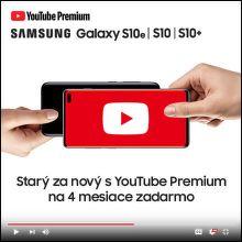 Získajte až do 920 € k nákupu nového Samsung Galaxy S10