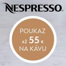 Poukážka na nákup kávy ku kávovarom Nespresso