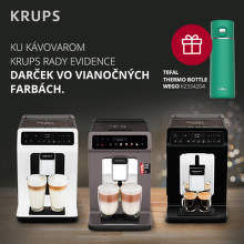 Darček ku kávovarom Krups