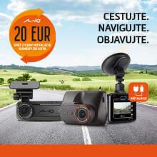 20 € späť z ceny inštalácie autokamery Mio