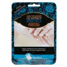 Xpel Hand pack makadamiový olej hydratačné rukavice