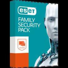 ESET Family Security Pack verzia BOX pre 4 zariadenia s predplatným na 18 mesiacov