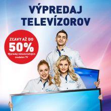 Výpredaj televízorov