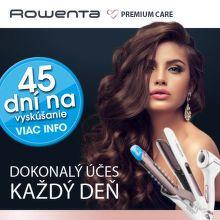 45 dní záruka vrátenia peňazí na vlasové produkty Rowenta