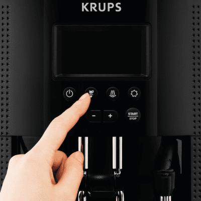 ovládanie teploty Krups EA815E70 Essential