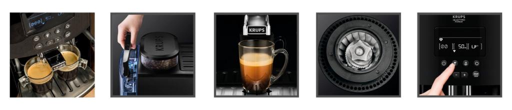 vlastnosti Krups EA8170 Quattro Force