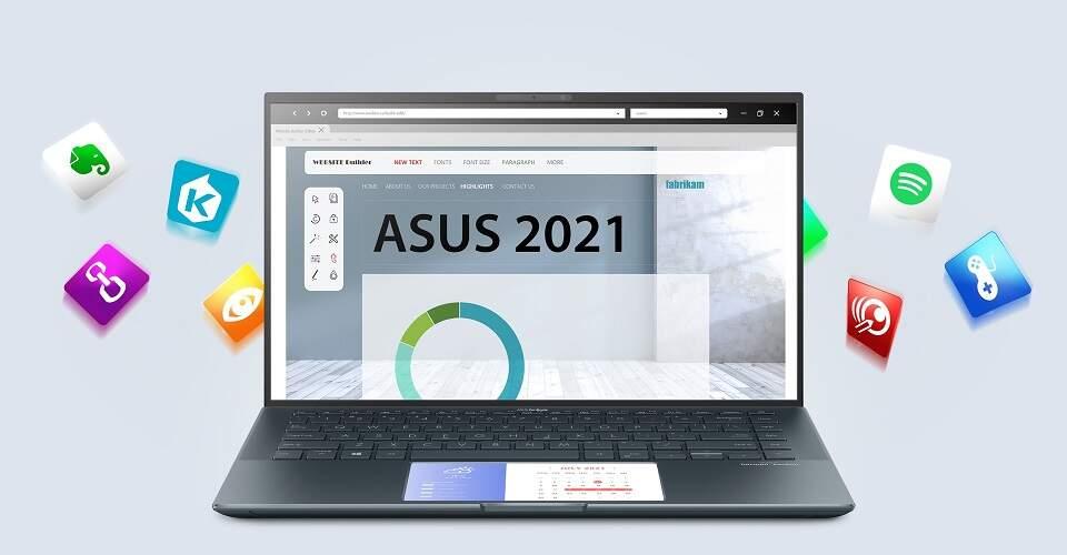 Asus ZenBook 14 UX435EA-K9103T sivý