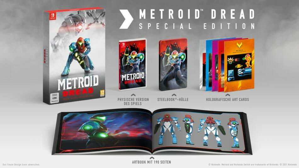 Metroid Dread Special Edition - Nintendo Switch hra
