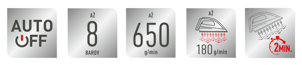 vlastnosti Tefal GV9610E0 Pro Express Ultimate +