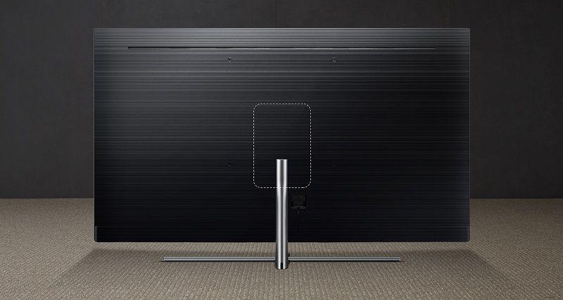 68cc8e247 Vo vašej obývačke zase oceníte stojan Studio Stand, ktorý bol navrhnutý pre  ešte lepšie estetické vyznenie televízora QLED v bytových priestoroch.