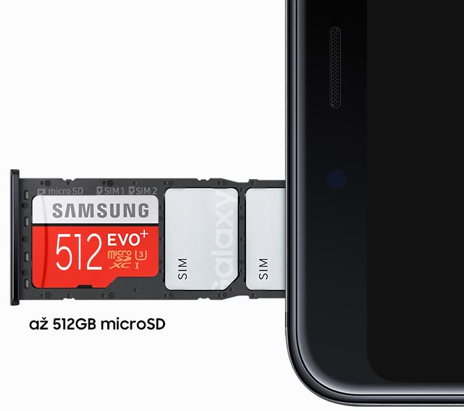 1abc3a778 No prostredníctvom microSD karty môžete kapacitu svojho telefónu zvýšiť až  o ďalších 512 GB. Navyše zariadenie disponuje aj 2 samostatnými slotmi na  SIM ...