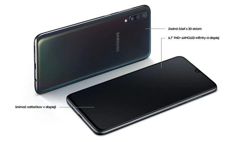 164787805 Samsung Galaxy A70 128 GB modrý   Nay.sk