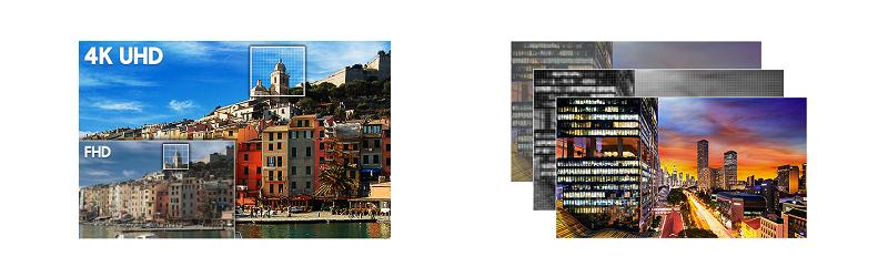 56f203e6a Na dokonalom výsledku sa podieľa aj pokročilá technológia Supreme UHD  Dimming. Nepretržite totiž optimalizuje obraz na televízore a zároveň  lokálne upravuje ...