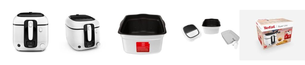 Vlastnosti fritézy Tefal FR314030 Super Uno