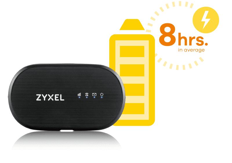 ZyXEL WAH7601 prenosný Wi-Fi router