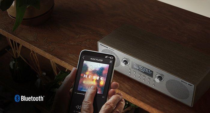 1e26bc825 Panasonic RF-D100BT hnedý rádioprijímač | Nay.sk