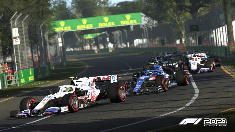 F1 2021 Xbox One/Series X Hra