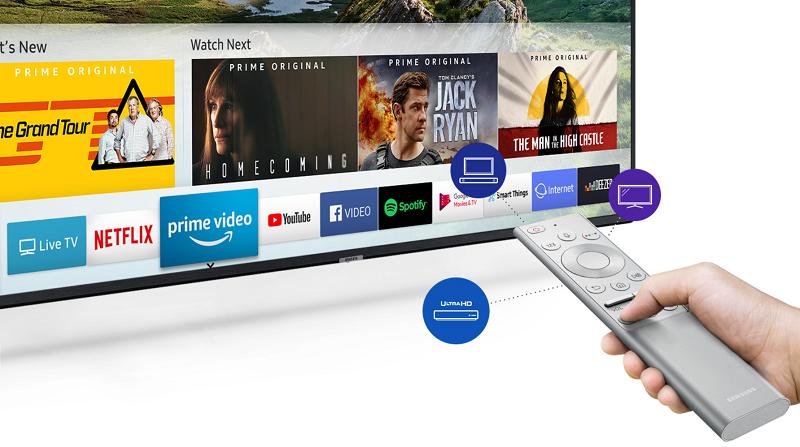 b137e7d72 ... zábavy plný aplikácií a hier. A všetko môžete mať pod palcom pomocou  ovládača One Remote v luxusnom kovovom prevedení, ktorý riadi nielen váš  televízor, ...