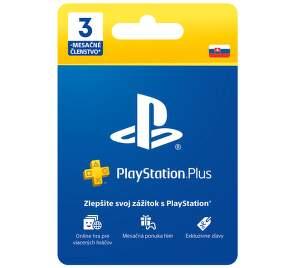 PlayStation Plus 90-dňové členstvo - Predplatná karta