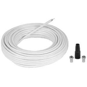 HAMA 56606 connection Kit + 2 F-Plugs & 1 Protection Tube, 10 m